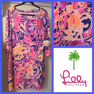 NWT Lilly Pulitzer Sophie Dress, Catch and Release