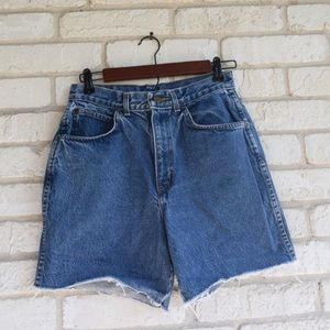 Vintage Chic High-Waisted Shorts