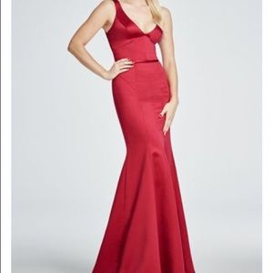 Truly by Zac Posen Red Gown!