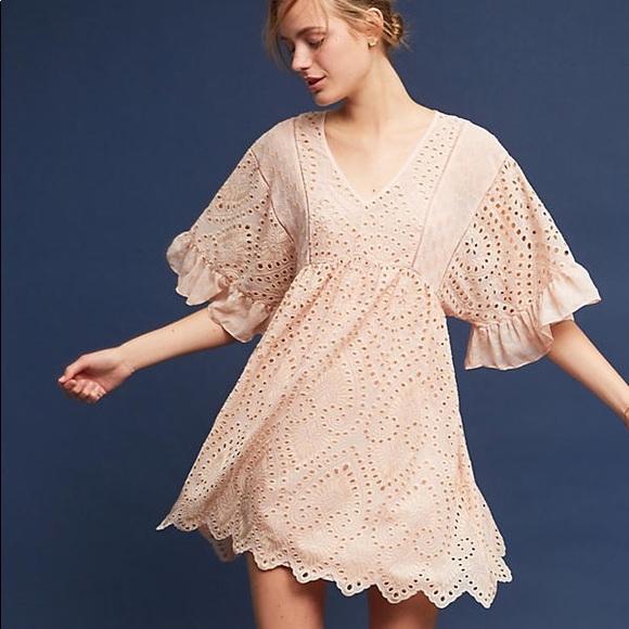 0bd853820d60 Anthropologie Dresses | Nwt Akemi Kin Brooke Eyelet Swing Dress ...