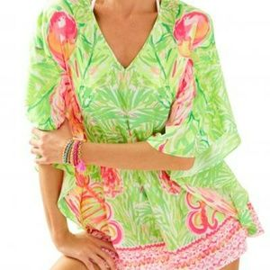 NWT Lilly Pulitzer Mai Romper Size XS