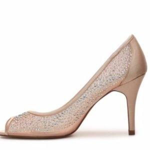 Adrianna Pappel FIONA Dress Heels Pumps Rhinestone