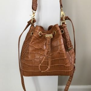 Brahmin drawstring bucket bag - brand new