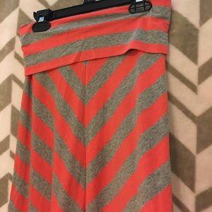 Bottoms - Girls striped skirt