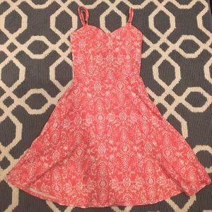 Cute, pink mini dress