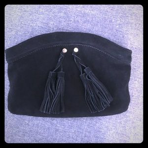 Mossimo suede clutch