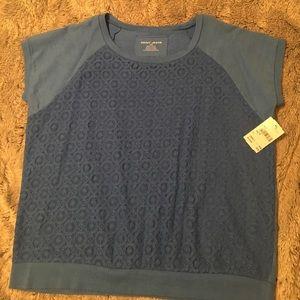 DKNY blue top