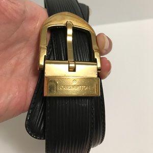 Louis Vuitton Accessories - AUTHENTIC LOUIS VUITTON BELT EPI LEATHER