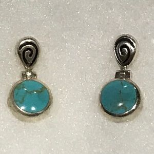 Jewelry - Sterling & Turquoise Earrings