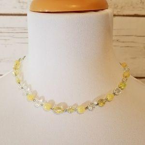 Jewelry - Lemon Ice Beaded Necklace