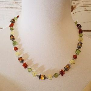 Jewelry - Autumn Beaded Necklace