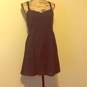 Blue cotton on dress