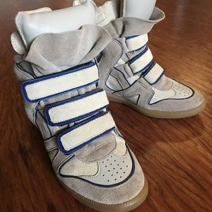 💯% Auth Isabelle Marant Wedge Sneakers