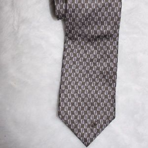 Perry Ellis Men's Tie 100% Silk Printed in Italy