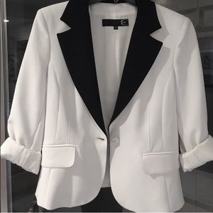 Black & white Just Cavalli blazer
