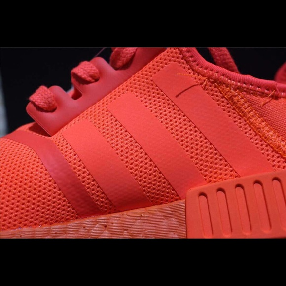 Adidas Shoes Nmd R1 Solar Red Poshmark