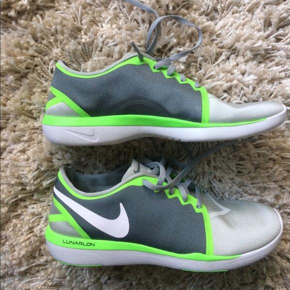 nike silver lunarlon nike womens shoes