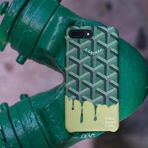 New goyard custom iphone 7/8 plus case