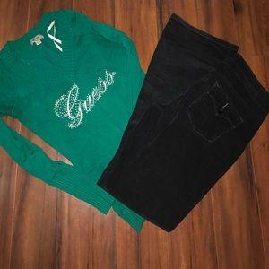 Denim - Levi's velvet bootcut 👖 jeans.