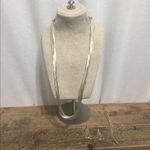 Jewelry - RARE Liquid Silver Sterling Set 50 strands