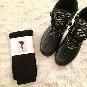 NWT Jessica Simpson black leggings