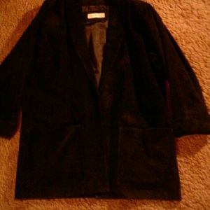 Suede jacket an black