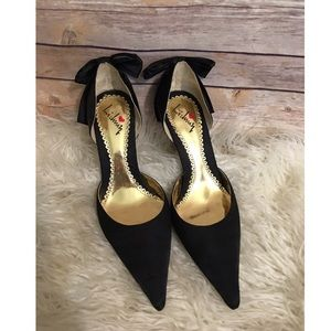 LUICHINY Black Heels