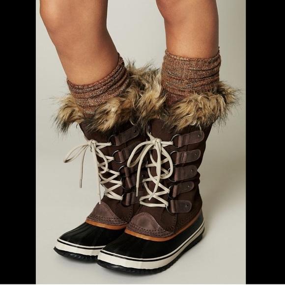0b9101132cd Free People Sorel Joan Of Arctic Weather Boots 6. M 59dad30e4225beb749019e46