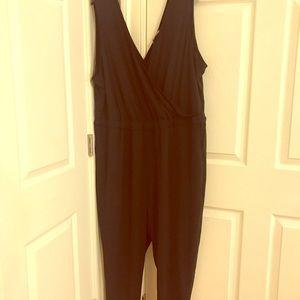 H&M Black Jumpsuit Size 18