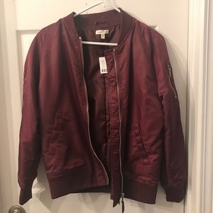 Urban Outfitters Silence+Noise Bomber Jacket (NWT)