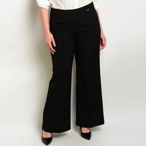 Pants - NWT PLUS SIZE 1XL DRESSY SLACKS BLACK PANTS XL