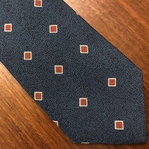 Armani Diamond Vintage Italian Silk Tie 