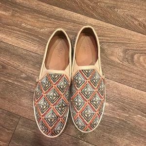 Joie print slip on sneakers. Size 38.5 (US 8)