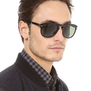 a9dd3ff279e Persol Accessories - Persol Folding Polarized Black Sunglasses