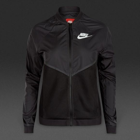 9f96b0c4c5fe Nike Tech Hypermesh Black Bomber Jacket