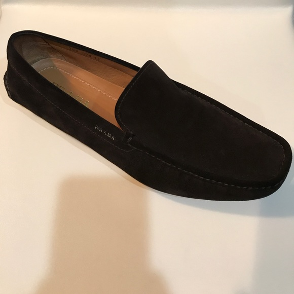 e6e44056da6 ... cheap prada driver loafer chocolate a6f28 98bb5