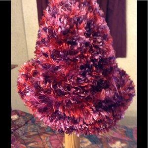 Burgandy Stylish Knit Cap