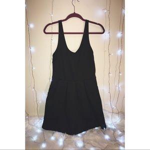 AEROPOSTALE BLACK DRESS! WITH POCKETS!!
