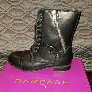Black Rampage Jedi combat boots