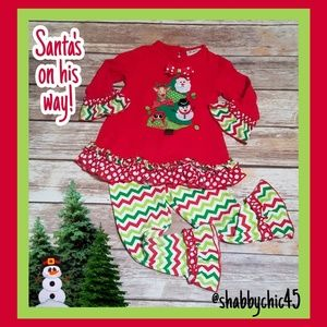 Ruffled Christmas Outfit from Rare Too! 3T
