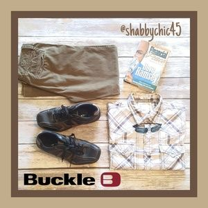 BKE Pearl Snap Down Shirt from Buckle