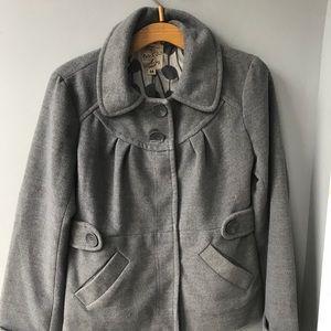 Jackets & Blazers - Cute Gray Jacket a junior medium. On sale for $15