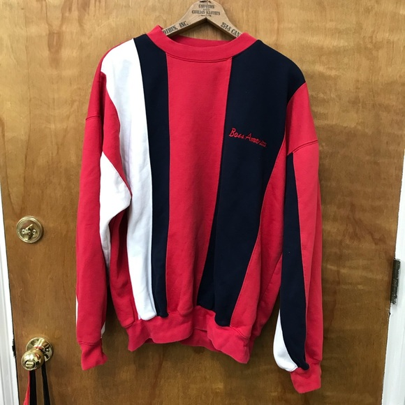 df16b5dc Hugo Boss Sweaters | Vintage America Sweatshirt Crewneck | Poshmark