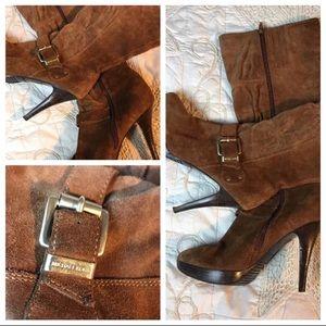 MICHAEL Michael Kors suede knee high boots Sz 7.5