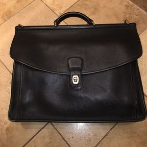 Authentic Coach Beekman Briefcase/Messenger Bag