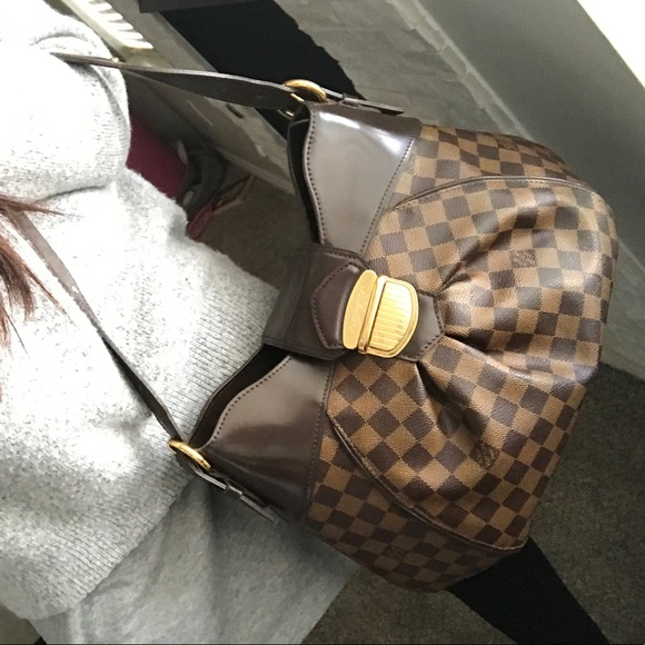 Louis Vuitton Bags   Week Sale Authentic Sistina Mm Damier Ebene ... 6b0a3cf9c7c