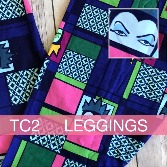 f5fd19995b819 LuLaRoe Pants | Nwt Tc2 Disney Villain Evil Witch Leggings | Poshmark