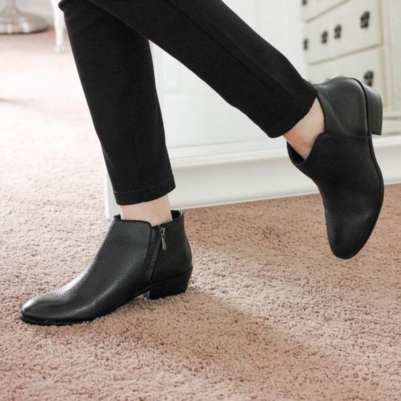 Sam Edelman Pebbled Leather Petty Boots