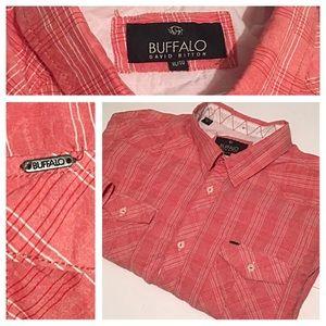 Men's Buffalo David Bitton Button front shirt XL