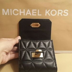 6f915bc82048 Michael Kors Bags - Michael Kors Vivianne Trifold Quilted Wallet NWT